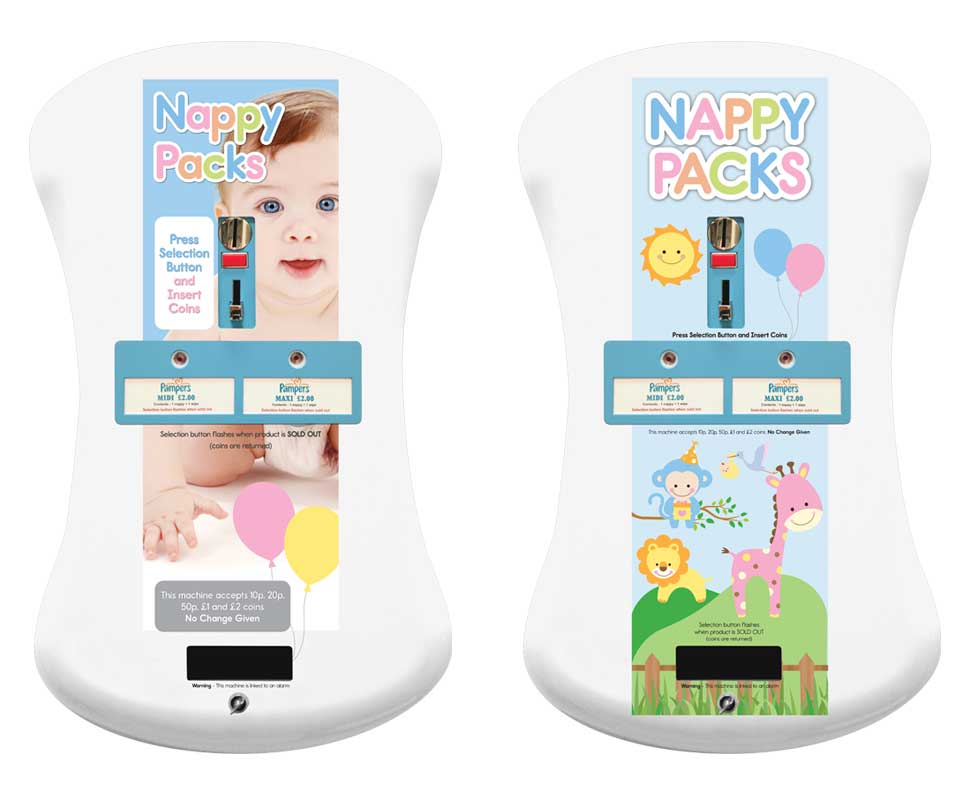 Due Curve Electronic Nappy Machines