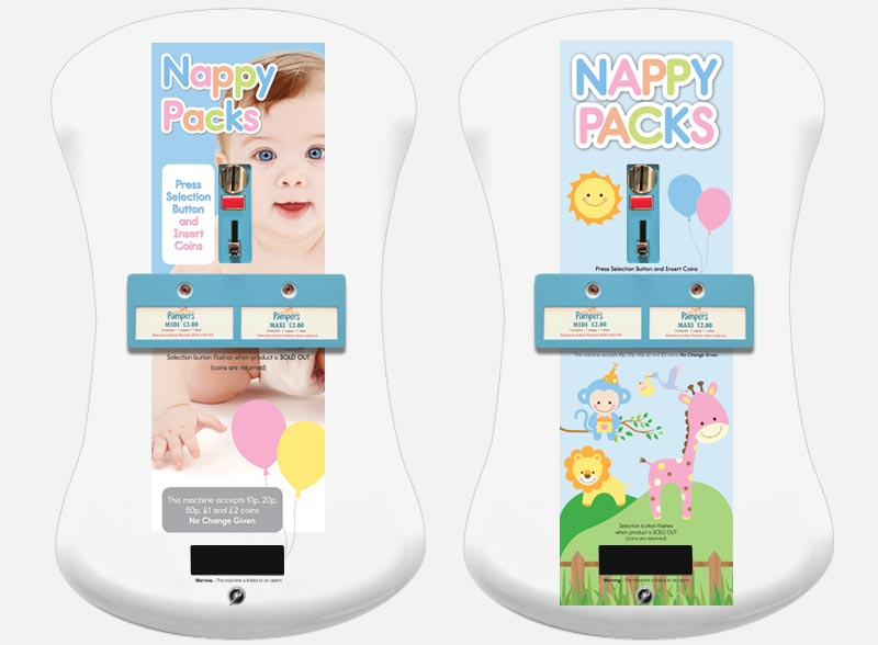 Electronic Nappy Machines