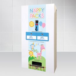 E-Mini electronic nappy vending machine