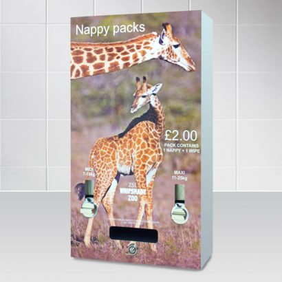 Whipsnade Zoo - Nappy Vending Machine